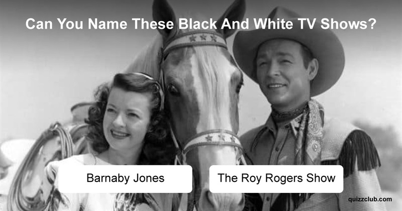 Movies & TV Quiz Test: Can You Name These Black And White TV Shows?