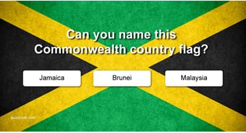 Geography Quiz Test: Can you name these Commonwealth country flags?