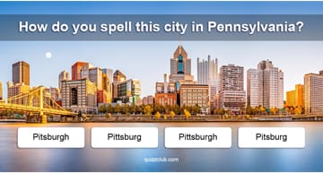 Geography Quiz Test: Can You Spell The Names Of The 15 Most Misspelled Cities In America?