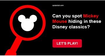 Movies & TV Quiz Test: Can You Spot Mickey Mouse Hiding In These Disney Classics?