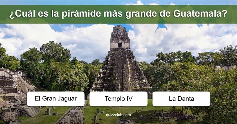 Geografía Quiz Test: Cultura General de Guatemala