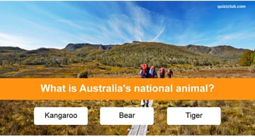 Geography Quiz Test: Do You Know Your National Animals?