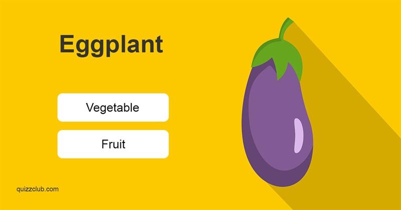 Quiz Test: Fruit or Vegetable?