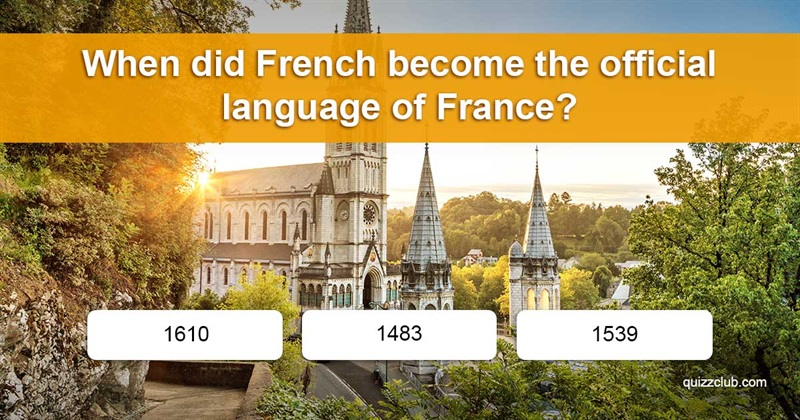 Geography Quiz Test: How Much Do You Know About French?