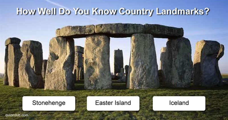 Geography Quiz Test: How Well Do You Know Country Landmarks?