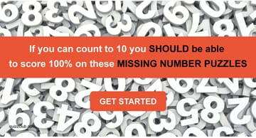 Quiz Test: If You Can Count To 10 You SHOULD Be Able To Score 100% On These Missing Number Puzzles
