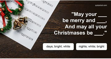 music Quiz Test: The Hardest Christmas Lyrics Quiz You'll Ever Take