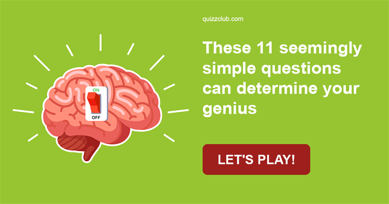 Quiz Test: These 11 Seemingly Simple Questions Can Determine Your Genius