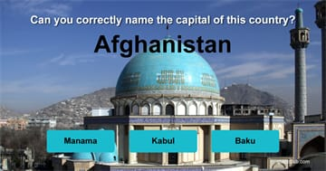 Geography Quiz Test: Can you correctly name the capitals of all these countries?