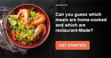 Quiz Test: Can You Guess Which Meals Are Home-Cooked And Which Are Restaurant-Made?