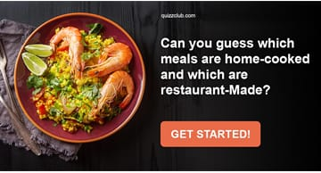 knowledge Quiz Test: Can You Guess Which Meals Are Home-Cooked And Which Are Restaurant-Made?