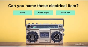 knowledge Quiz Test: Can You Name These Electrical Items From The 70s & 80s?