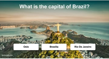 Geography Quiz Test: Do You Know The Capital Cities?