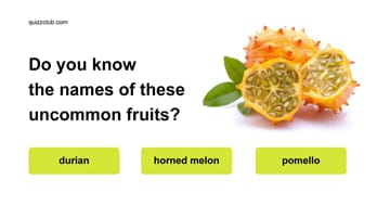 Quiz Test: Do you know the names of these uncommon fruits?