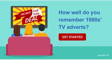 Movies & TV Quiz Test: How well do you remember 1980s' TV adverts?