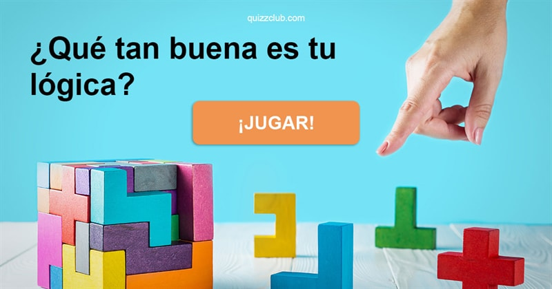 Coeficiente intelectual Quiz Test: ¿Qué tan buena es tu lógica?