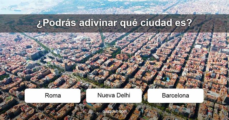 Geografía Quiz Test: ¿Podrás adivinar qué ciudades?