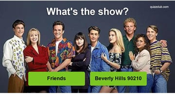 Movies & TV Quiz Test: Can you guess the 90s TV show from the picture?