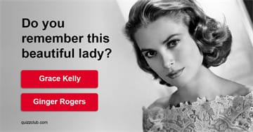 Movies & TV Quiz Test: Can You Guess These Hollywood Golden Era Stars?