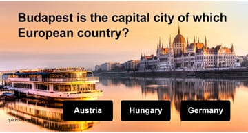 Geography Quiz Test: Can you name all these European capitals?