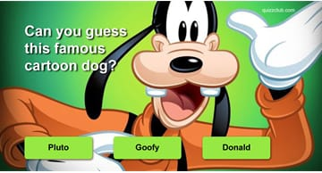 Movies & TV Quiz Test: Can You Guess These Famous Cartoon Dogs?