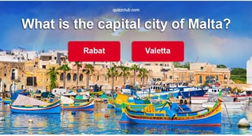Geography Quiz Test: What Do You Know About Malta?