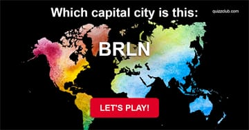 IQ Quiz Test: 95% Of People Cannot Pass This Capitals Test With A Twist!