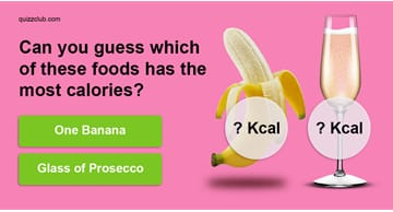 knowledge Quiz Test: Can you guess which of these foods has the most calories