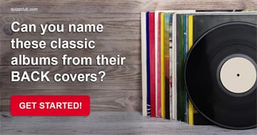 music Quiz Test: Can You Name These Classic Albums From Their Back Covers?