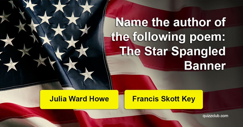 Quiz Test: Can You Pass This American Literature Quiz from 1911?