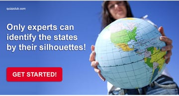 Geography Quiz Test: Only U.S. Geography Experts Can Identify The States By Their Silhouettes!