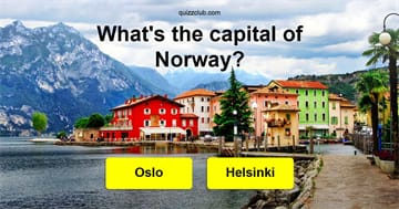 Geography Quiz Test: Only Well-Traveled People Can Name The Capitals Of These 13 European Countries!