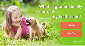 Quiz Test: The Grammar Quiz For People Who Like Pictures Of Cute Kittens and Puppies
