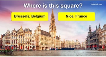 Geography Quiz Test: Can You Identify The Major City Based On Their Central Square?