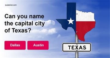 Geography Quiz Test: Can YouName The Capital City Of These U.S. States?