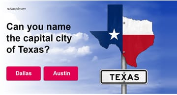 Geography Quiz Test: Can You Name The Capital City Of These U.S. States?