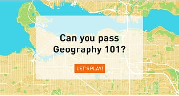Quiz Test: Can You Pass Geography 101?
