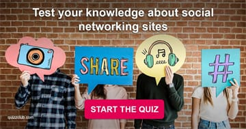 knowledge Quiz Test: Quiz: Test your knowledge about social networking sites
