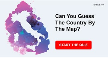 Geography Quiz Test: Can You Guess The Country By The Map?