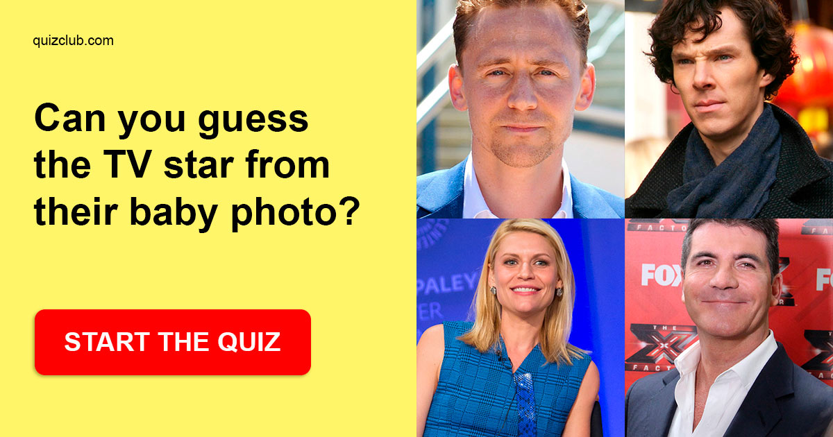 Can you guess the TV star from their    | Trivia Quiz | QuizzClub