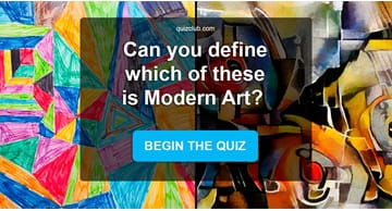 funny Quiz Test: Can You Guess Which Of These Paintings Is Modern Art?