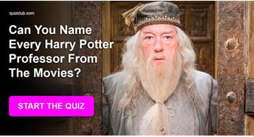 Movies & TV Quiz Test: Can You Name Every Harry Potter Professor From The Movies?