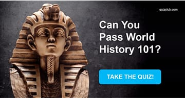 History Quiz Test: Can You Pass World History 101?
