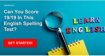 language Quiz Test: Can You Score 19/19 In This English Spelling Test?