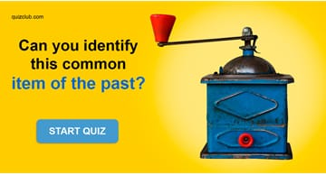 Society Quiz Test: How Many Of These Everyday Items Of The Past Can You Identify?