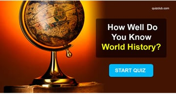 History Quiz Test: How well do you know your world history?
