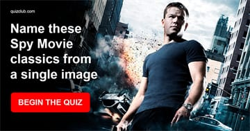 Movies & TV Quiz Test: Name these Spy Movie classics from a single image