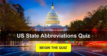 Geography Quiz Test: No One Got 15/20 In This Confusing US State Abbreviations Quiz