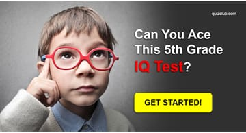 IQ Quiz Test: Can you ace this 5th Grade IQ Test?