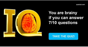 IQ Quiz Test: You are brainy if you can answer 7/10 questions